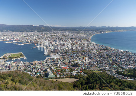 北海道函館山的景色 73959618