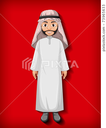 Arab man cartoon character 73965633