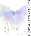自然風光的水彩背景,活動和慶祝活動的概念形象 73970168