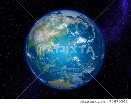 地球:以日本群島為中心的星空星系 73970548