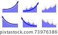 箭頭圖向上設置藍色 73976386