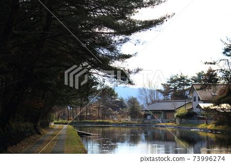 輕井澤/ Mikage灌溉附近的風景(秋天) 73996274