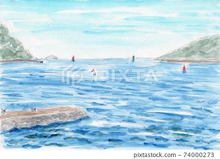 Strait in Setouchi 74000273