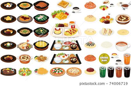 不受歡迎的家庭美食插圖①(比薩餅,麵食,午餐,早晨,飲料吧) 74006719