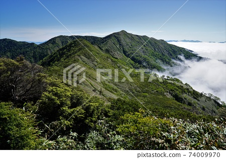 從土井山到白鷺山的山脊 74009970