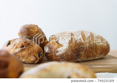 A set of baguettes that look delicious 74020169