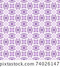 Textile ready enchanting print, swimwear fabric, 74026147