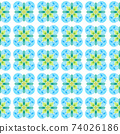 Textile ready powerful print, swimwear fabric, 74026186