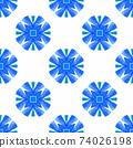 Textile ready exceptional print, swimwear fabric, 74026198