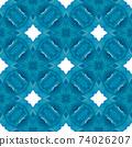 Textile ready trending print, swimwear fabric, 74026207