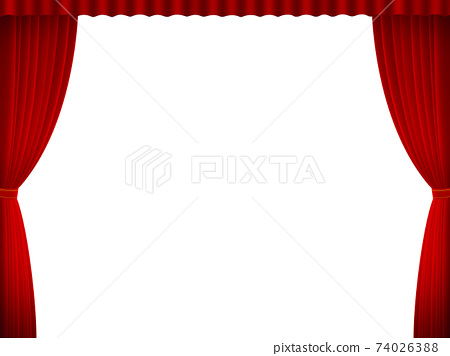 Theater curtain background material 74026388
