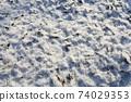 눈 내린 날의 아름다운 풍경 74029353
