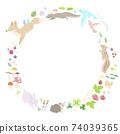 春季動物的框架 74039365