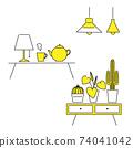 室內雜貨插圖集 74041042