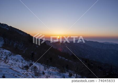 일몰,지리산,경남 74045633