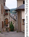 Small village in southern France 74061616