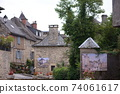 Small village in southern France 74061617