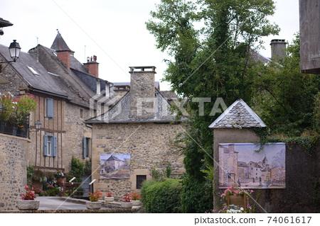 法國南部的小村莊 74061617