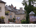 Small village in southern France 74061619