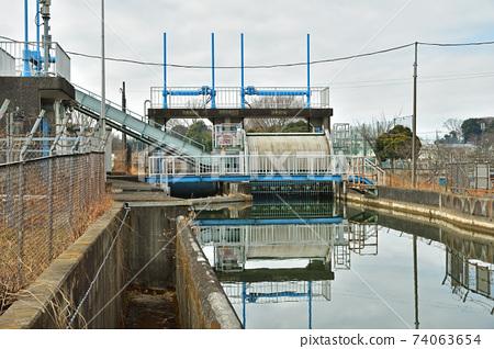 見沼 대용 물 : 기와 조절 댐 74063654