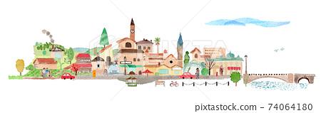 歐式城市景觀 74064180