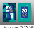 annual report 2021,2022 ,future, business, template layout design, cover book. vector illustration ,presentation abstract flat background. 74074800