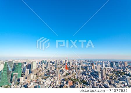 [東京]大城市風光 74077685