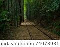 Former Japanese National Railways Kurayoshi Line Taikyuji Station Ruins-Kurayoshi Line Discontinued Bamboo Forest (August 2020) 74078981