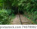 Former Japanese National Railways Kurayoshi Line Taikyuji Station Ruins-Kurayoshi Line Discontinued Bamboo Forest (August 2020) 74078982