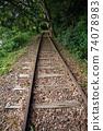 Former Japanese National Railways Kurayoshi Line Taikyuji Station Ruins-Kurayoshi Line Discontinued Bamboo Forest (August 2020) 74078983