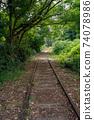 Former Japanese National Railways Kurayoshi Line Taikyuji Station Ruins-Kurayoshi Line Discontinued Bamboo Forest (August 2020) 74078986