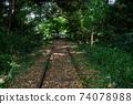 Former Japanese National Railways Kurayoshi Line Taikyuji Station Ruins-Kurayoshi Line Discontinued Bamboo Forest (August 2020) 74078988