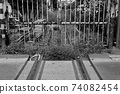 Traces of lead-in lines to the factory 74082454