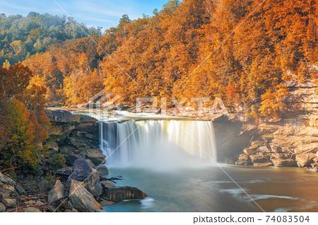 umberland Falls State Resort Park, Kentucky, USA 74083504