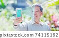 facial identification concept 74119192