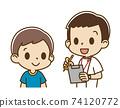 由男護士採訪的一個男孩(微笑) 74120772