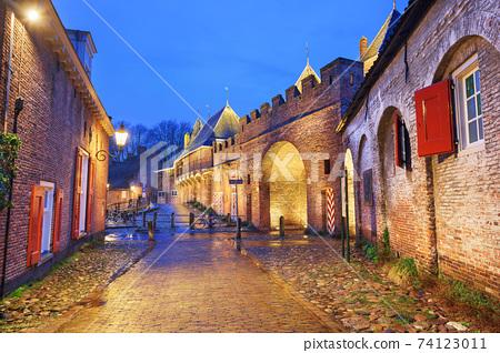 Amersfoort, Netherlands at the historic Koppelpoort 74123011
