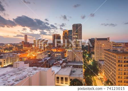 Birmingham, Alabama, USA downtown city skyline 74123015