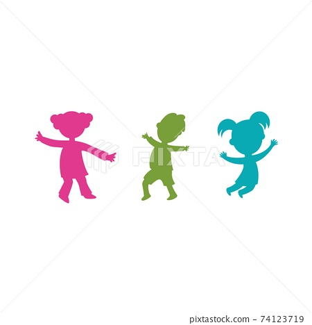 kids concept vector illustration 74123719
