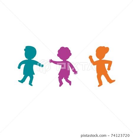 kids concept vector illustration 74123720