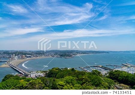 江之島遊艇港本天橋 74133451
