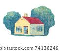 手寫風格的房子 74138249