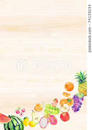 Watercolor illustration fruit fruit 74139234