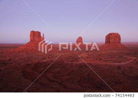 美國日落紀念碑谷 74154463