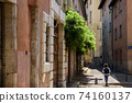 Medieval Street and Tour de Sassenage in Grenoble 74160137