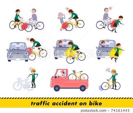 사고, 자전거, 학생 74161443