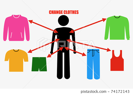 Changing clothes 74172143