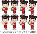 Minimini唐人街招牌女孩3 74175001