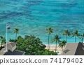 夏威夷,威基基海灘 74179402