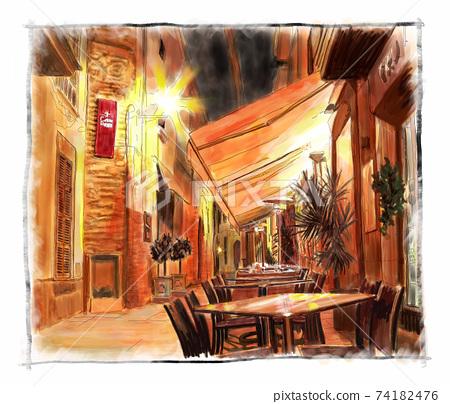 夜咖啡館 74182476